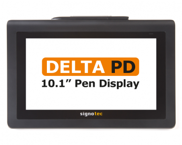 signotec Delta Pen Display front view