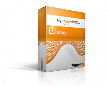 signoSign/mobile for Android