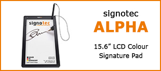 Category Signature Pad signotec Alpha