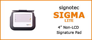 Category Signature Pad signotec Sigma Lite