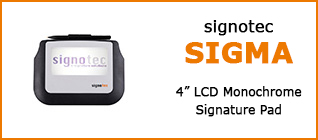 Category Signature Pad signotec Sigma